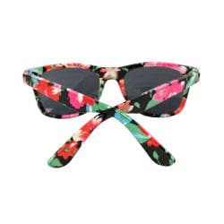 Women's Floral Pattern Sunglasses - Thumbnail 2