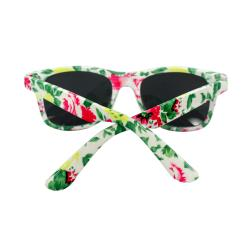Women's Green Floral Sunglasses