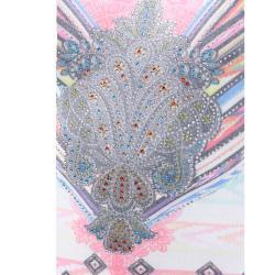 Tabeez Women's Mystic Rhinestone Sublimation Top