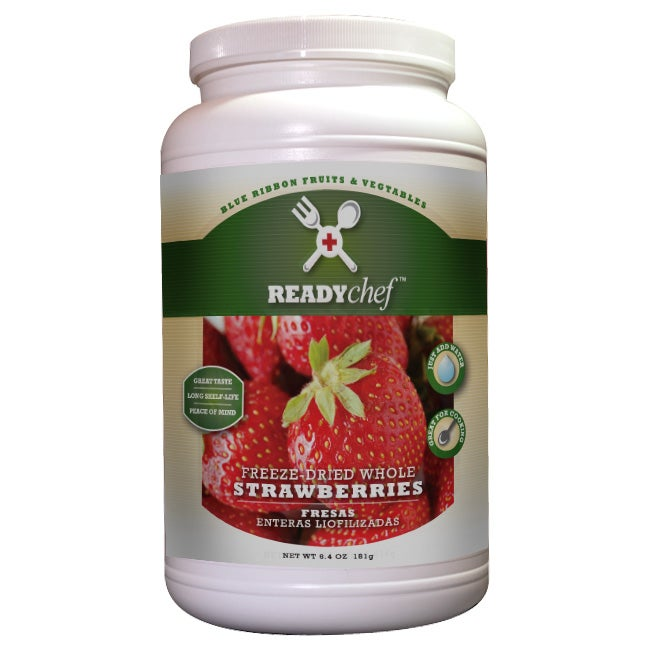 Ready Chef Premium Freeze-dried Strawberries (6.4-ounce)