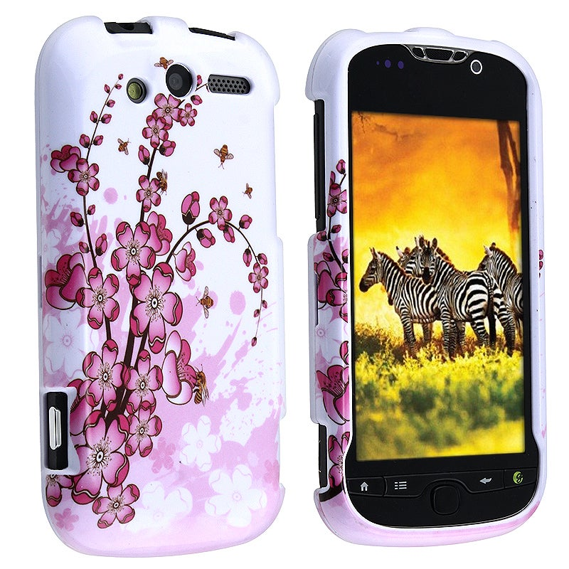 BasAcc Spring Flower Snap-on Case for HTC myTouch 4G