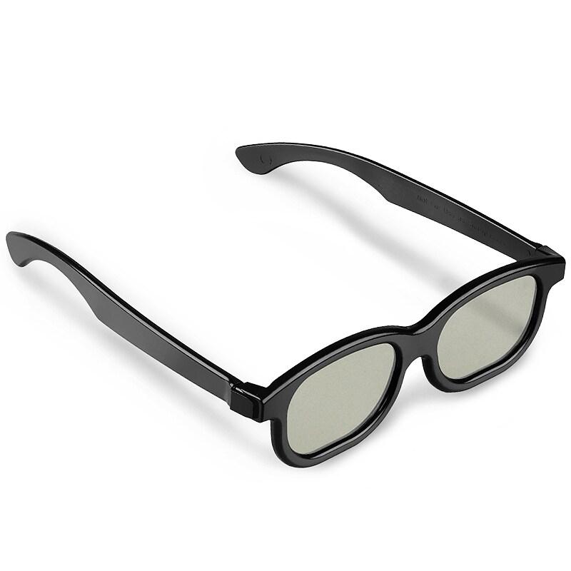 BasAcc Black 3D Glasses