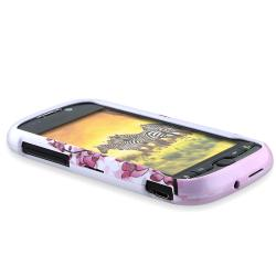 BasAcc Spring Flower Snap-on Case for HTC myTouch 4G - Thumbnail 2