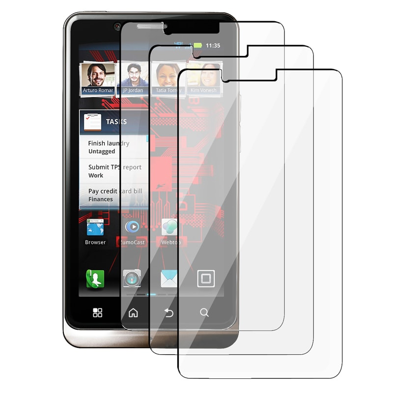 Screen Protector for Motorola Droid Bionic XT875 (Pack of 3)