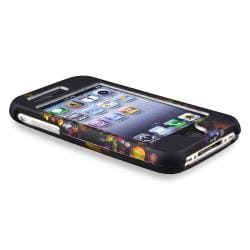 Black Rainbow Garden Snap-on Case for Apple iPhone 3G/ 3GS - Thumbnail 2