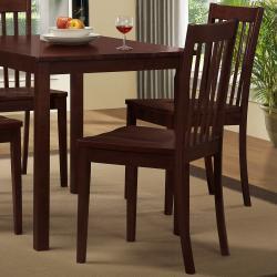 Norfolk 5-piece Slat Back Chair Dining Set