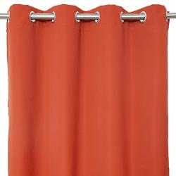 Sunbrella Bay View Terracotta 96-inch Outdoor Curtain Panel