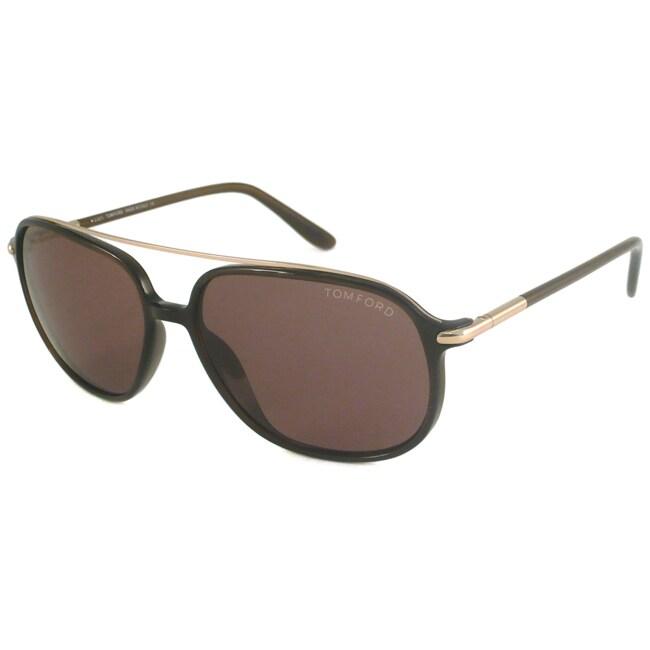 Tom Ford Men's TF0150 Sophien Aviator Sunglasses