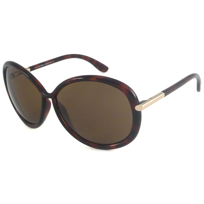 Tom Ford Women's TF0162 Clothilde Rectangular Sunglasses