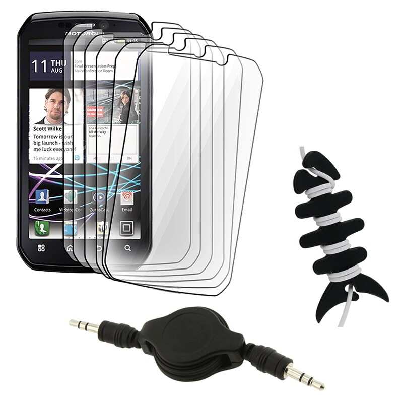 Screen Protector/ Wrap/ Cable for Motorola Photon 4G MB855