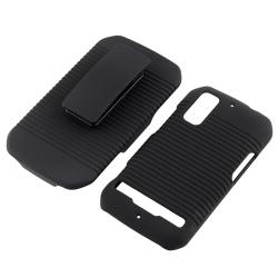 Holster/ LCD Protector/ Charger/ USB Cable for Motorola Photon MB855 - Thumbnail 1
