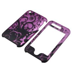Purple Case/ Screen Protector/ Headset Wrap for Apple iPhone 3G/ 3GS - Thumbnail 1