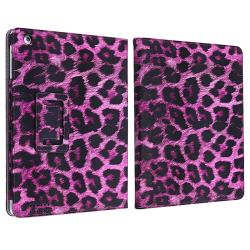 Leather Case/ Screen Protector/ Wrap/ Stylus for Apple iPad 2/ 3 - Thumbnail 2