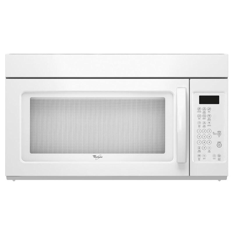 Whirlpool 1.6 CU 1000-watt Over the Range Microwave Oven
