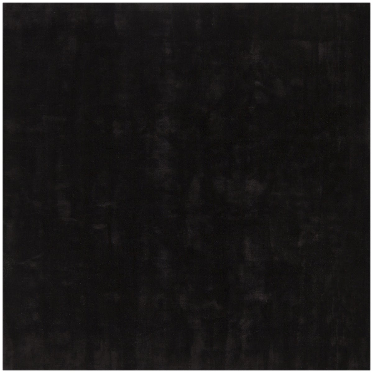 Hand-woven Mandara Black Rug (8' x 10')