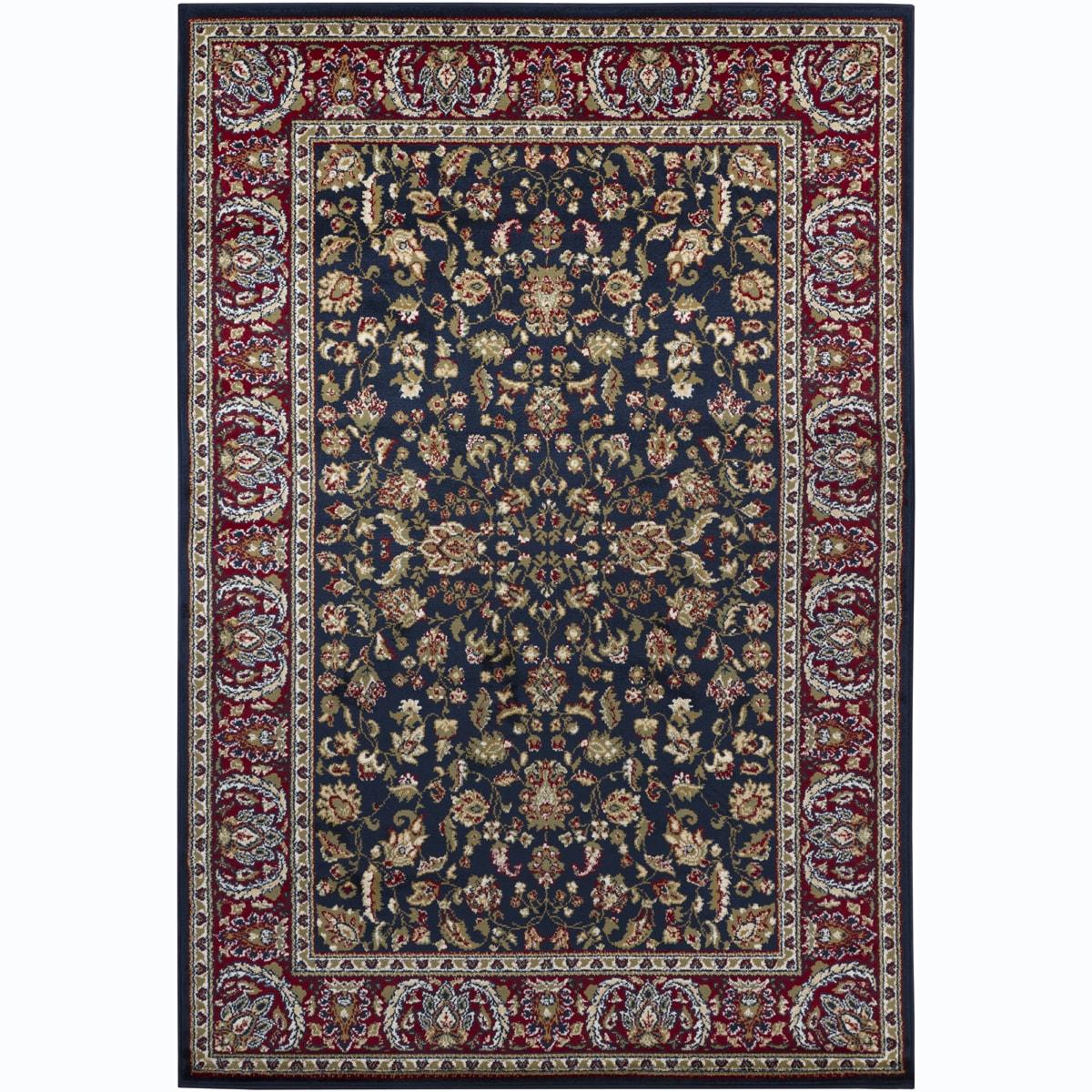 Mandara Blue Oriental Rug (4' x 6')
