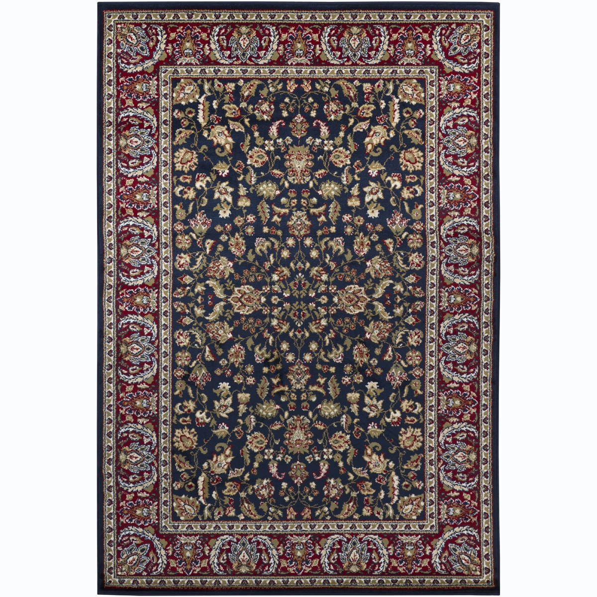 Mandara Blue Oriental Rug (5'3 x 7'9)