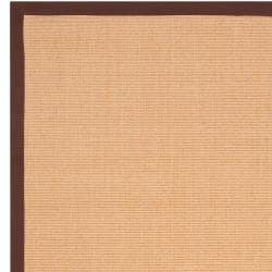 Woven Brown Hillsborough West Natural Fiber Sisal Area Rug (6' x 9') - Thumbnail 2
