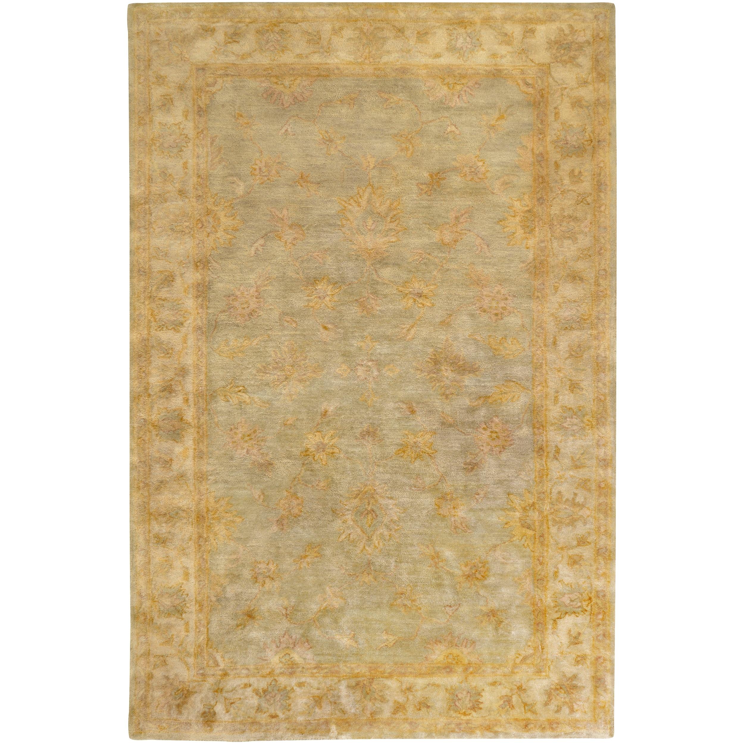 Hand-tufted Gray Vertigo New Zealand Wool Rug (8' x 11')