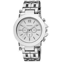 Vernier Women's Faux Chrono Pattern Bracelet Quartz Watch
