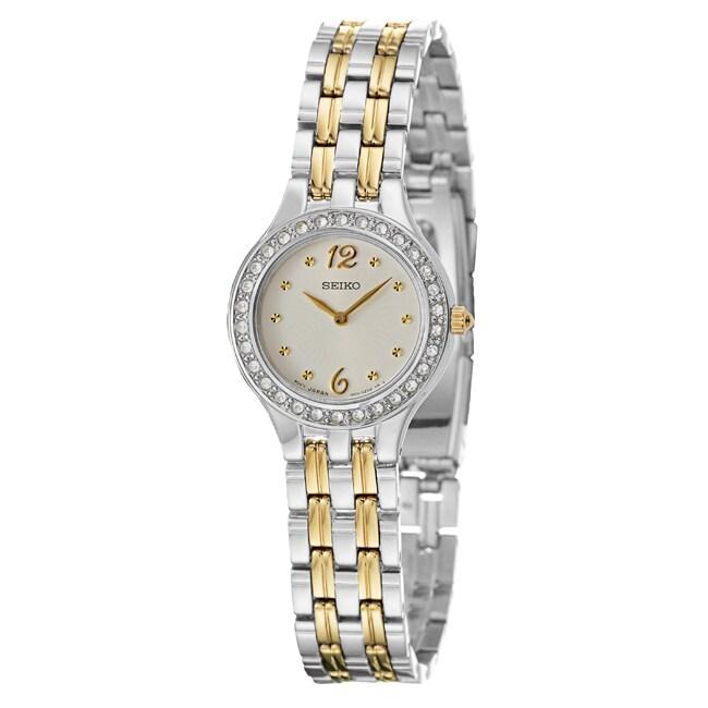 Seiko Women's 'Bracelet' Two Tone Quartz Watch