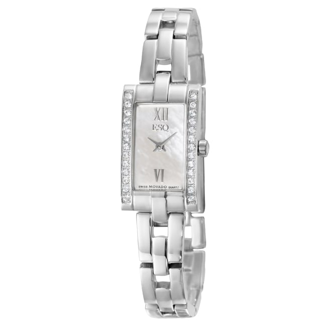 ESQ by Movado Women's 'Flair' Stainless Steel Quartz Watch