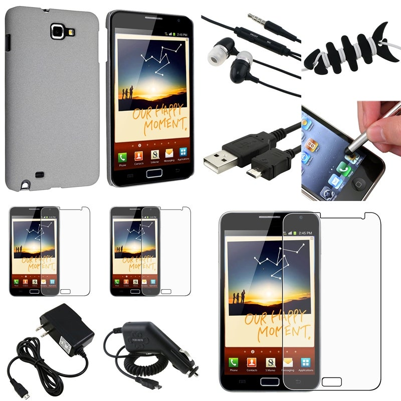 Case/ LCD Protectors/ Chargers/ Headset for Samsung Galaxy Note N7000