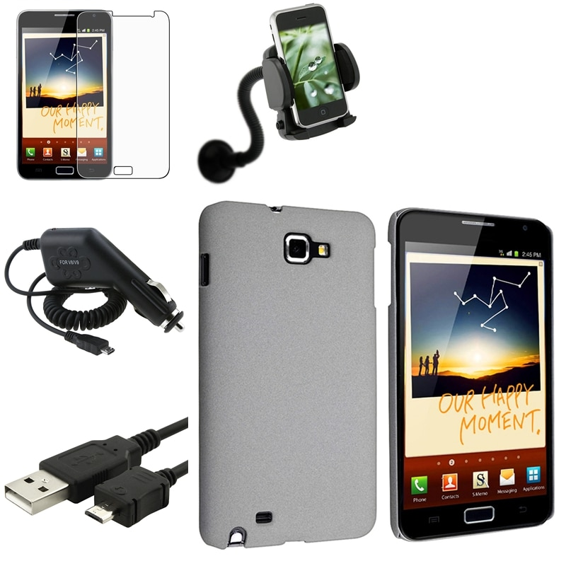 Case/ Charger/ Holder/ LCD Protector for Samsung Galaxy Note N7000