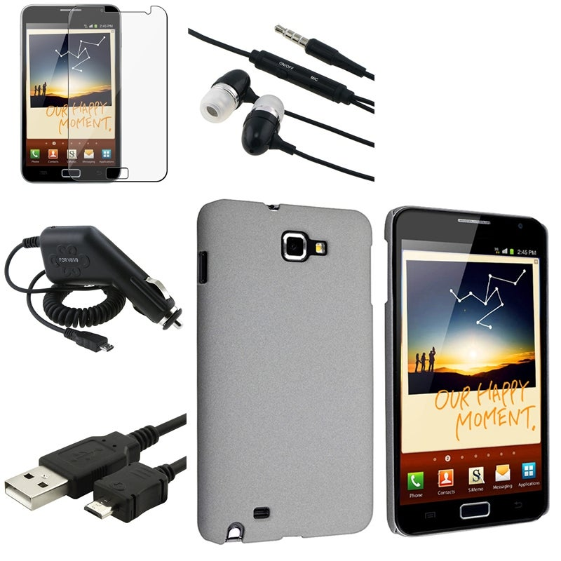 Case/ LCD Protector/ Charger/ Headset for Samsung Galaxy Note N7000