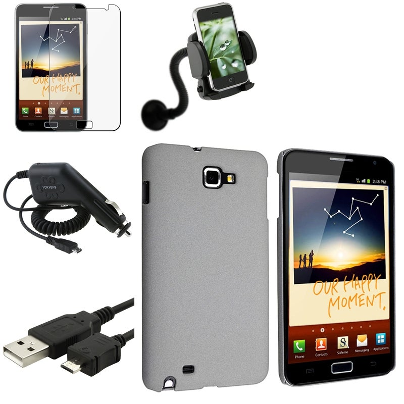 Case/ LCD Protector/ Charger/ Holder for Samsung Galaxy Note N7000