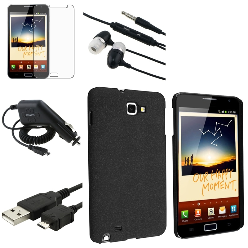 Case/ Charger/ Headset/ LCD Protector for Samsung Galaxy Note N7000