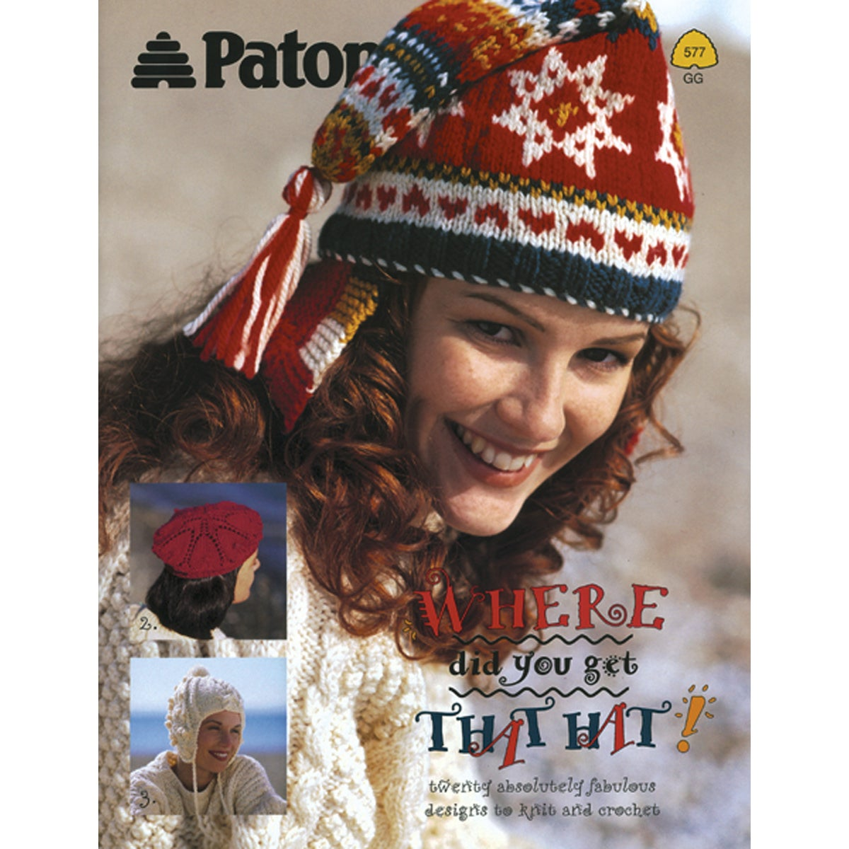 Patons-Where Did You Get That Hat? -Patons