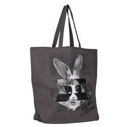 See By Chloe Grey Oversized Tote Handbag - Thumbnail 1