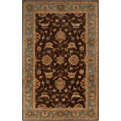 Hand-Tufted Multicolored-Earth-Tone Kings Bay New-Zealand-Wool Rug (9' x 13')