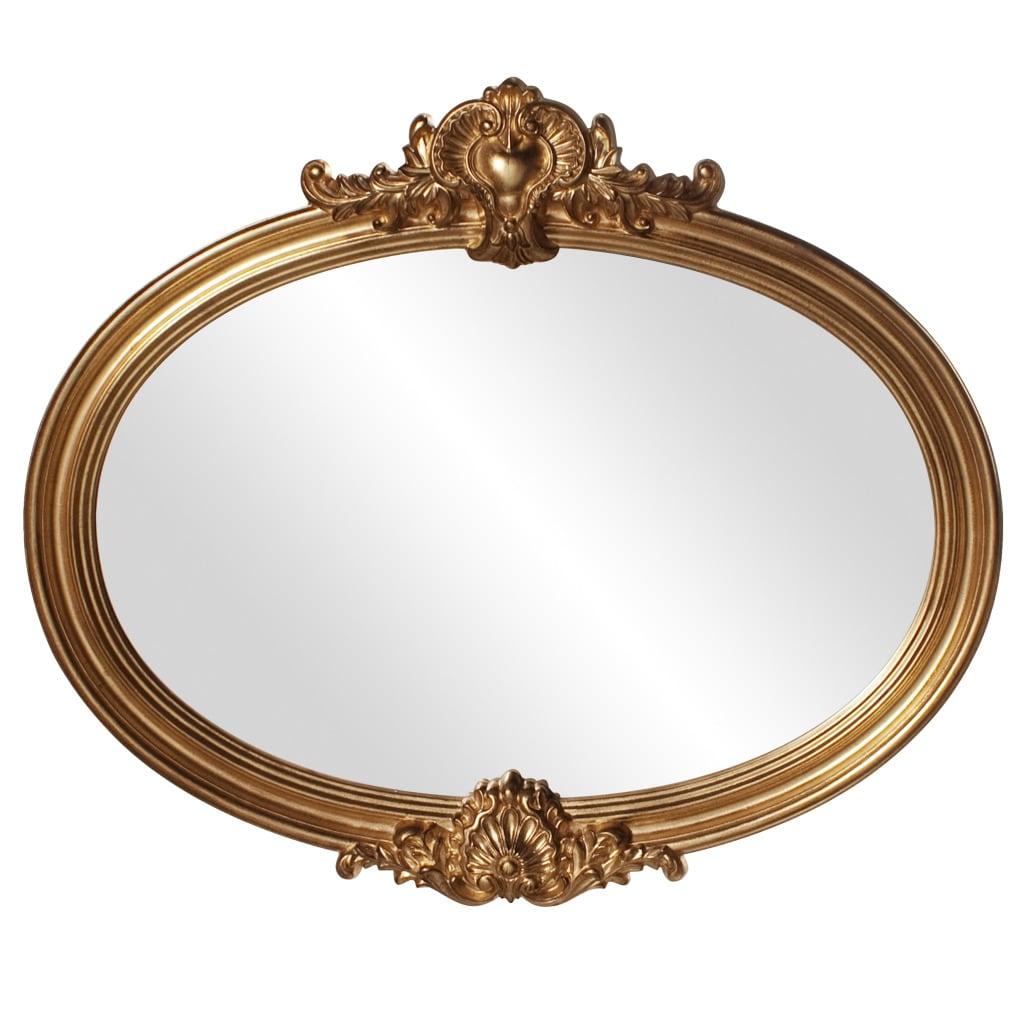 Piedmont Antique Gold Leaf Mirror