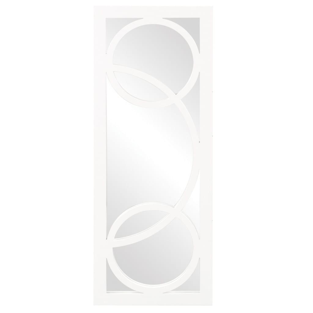 Dynasty White Resin Mirror