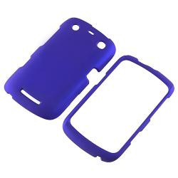 Blue Case/ Screen Protector/ Chargers/ Wrap for Blackberry Curve 9350 - Thumbnail 1