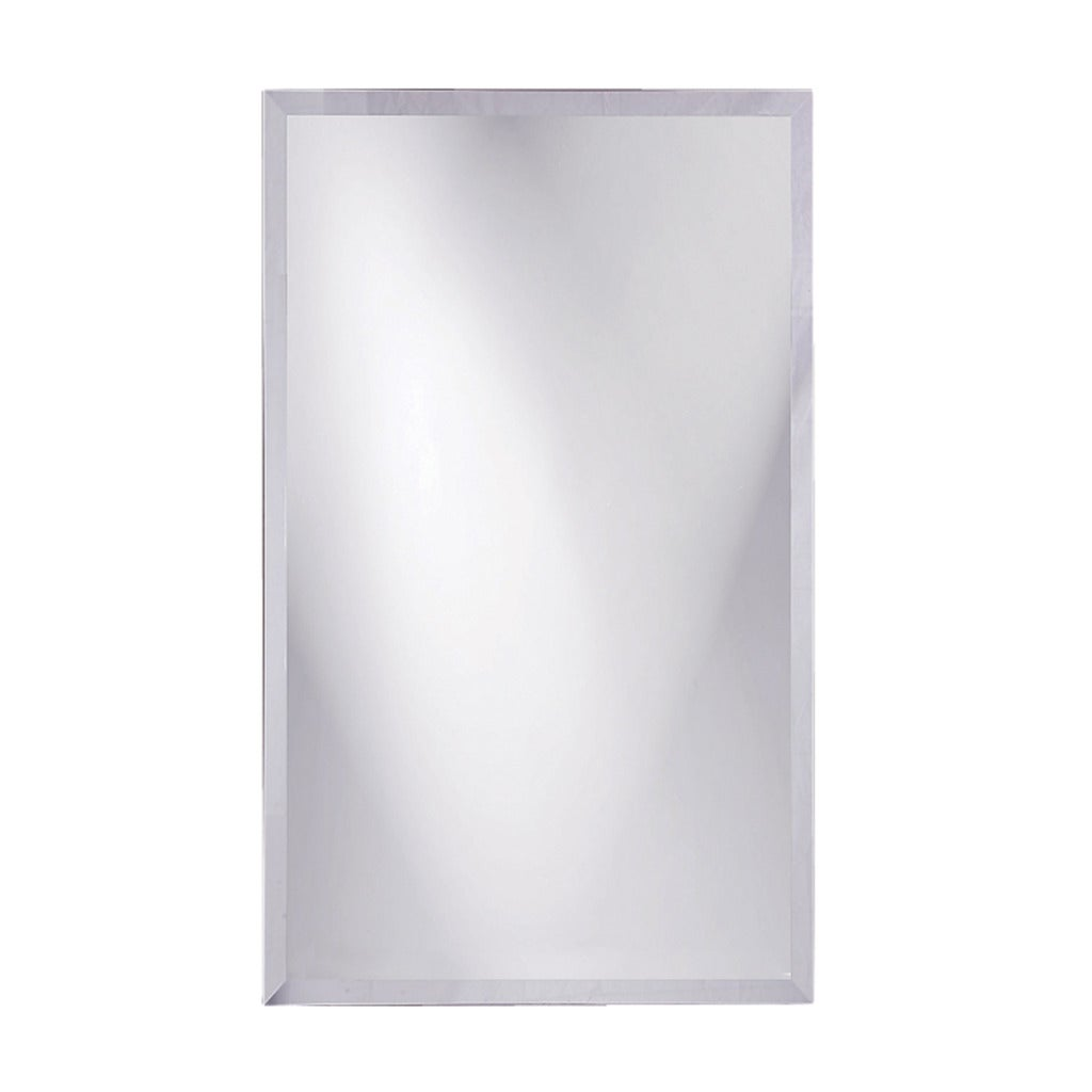 Frameless Beveled Rectangular Mirror