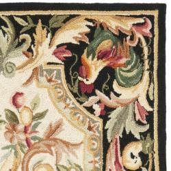 Safavieh Hand-hooked Rooster Ivory/ Black Wool Rug (2'9 x 4'9)