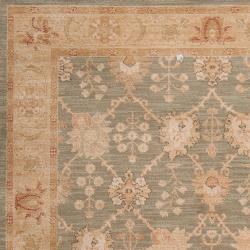 Woven Green Viligance Rug (5'3 x 7'8)