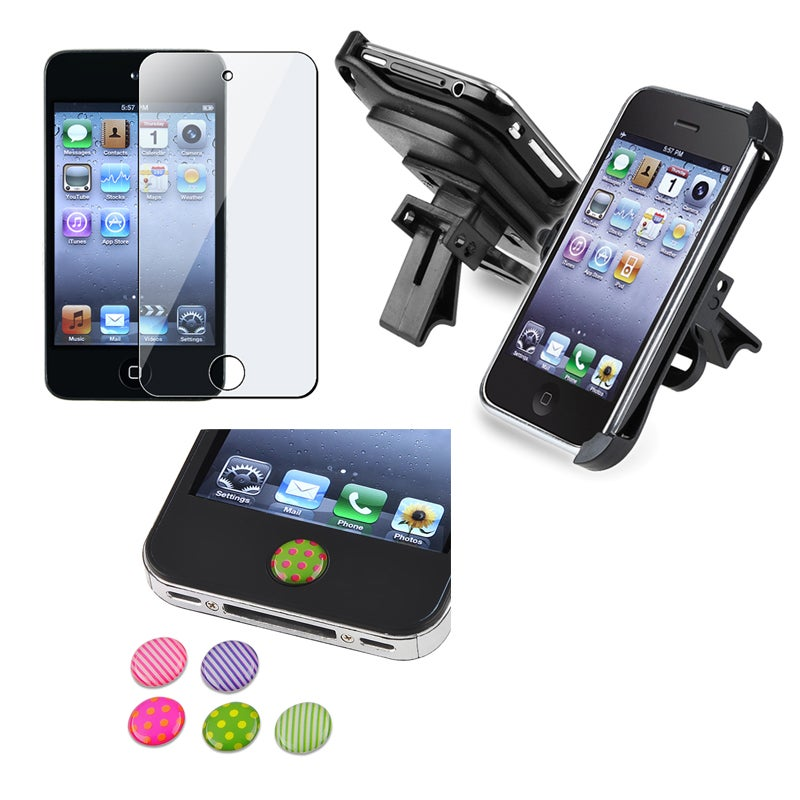 Screen Protector/ Holder/ Sticker for Apple iPod Touch 4th Generation