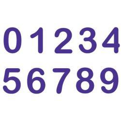 Cake Stamp Set 10/Pkg-Classic Numbers