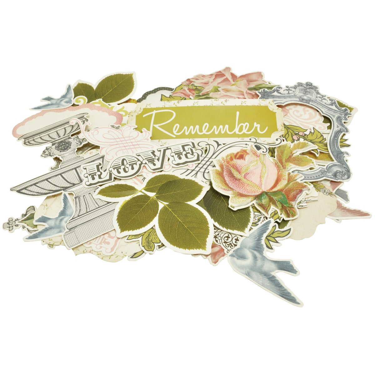 The Lakehouse Collectables Cardstock Die-Cuts 46/Pkg