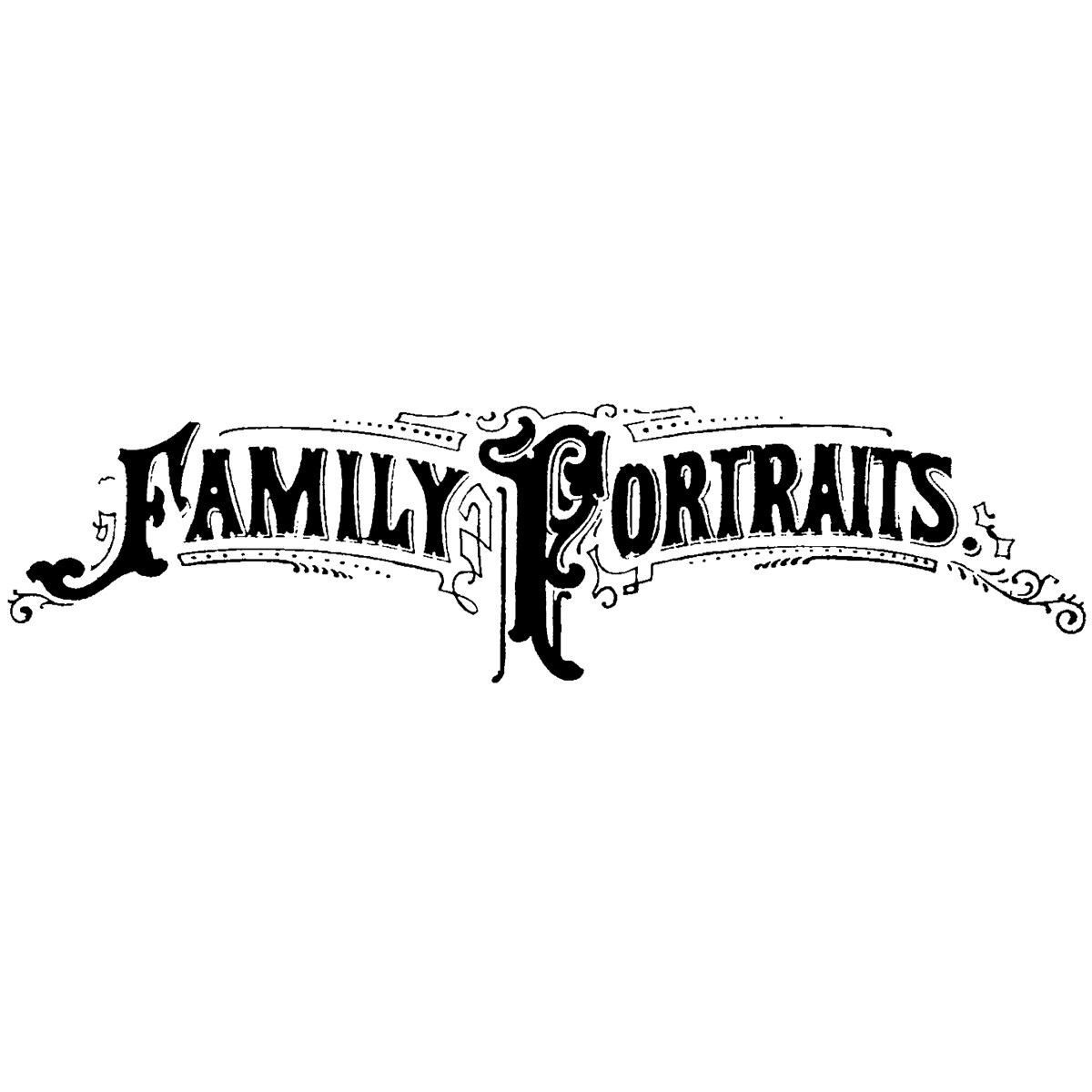 Donna Salazar Cling Stamp-Family Portraits