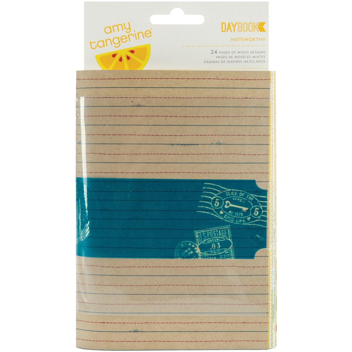 "American Crafts Daybook 4-1/2""X6-1/2""-Noteworthy"