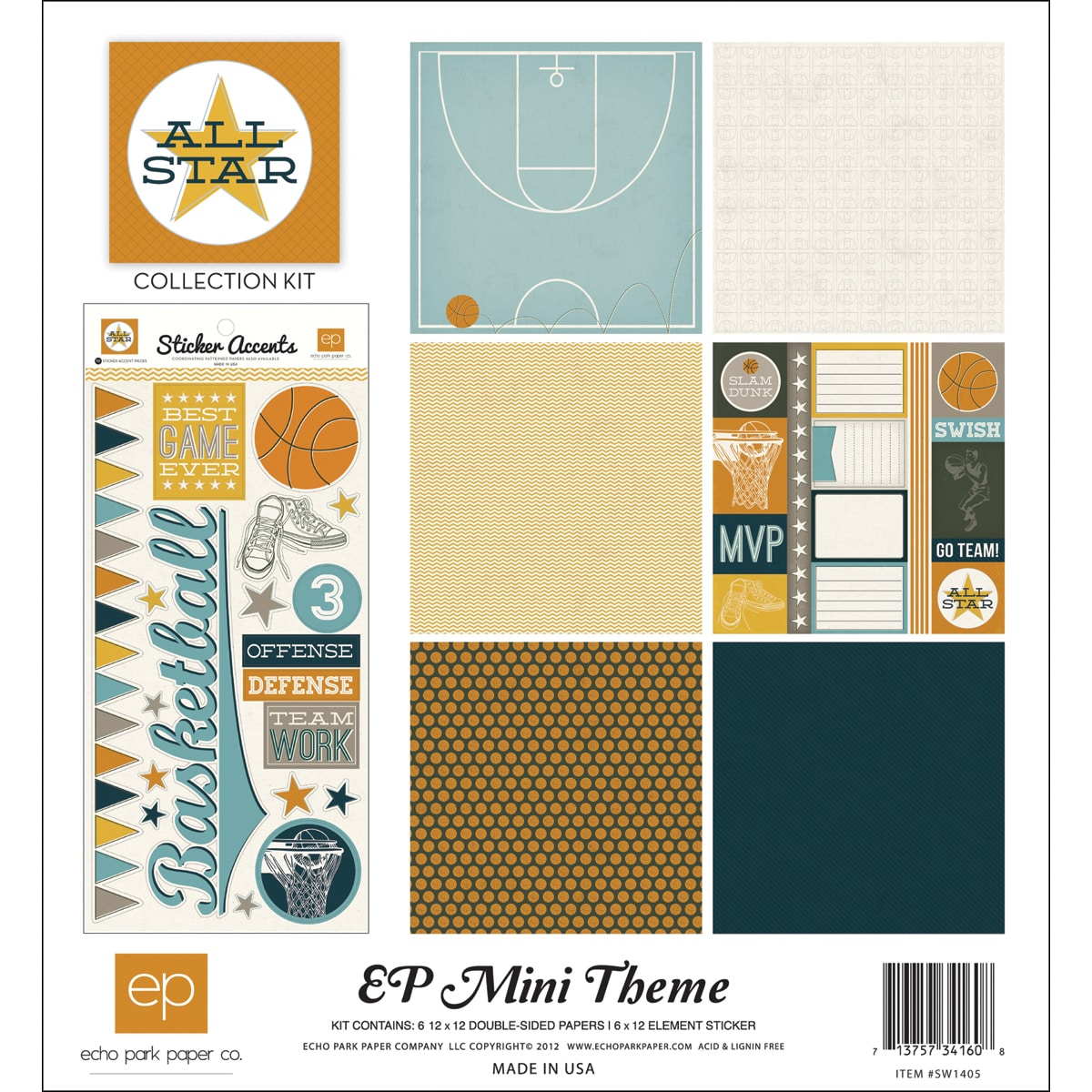"""All Star Collection Kit 12""""X12"""""""