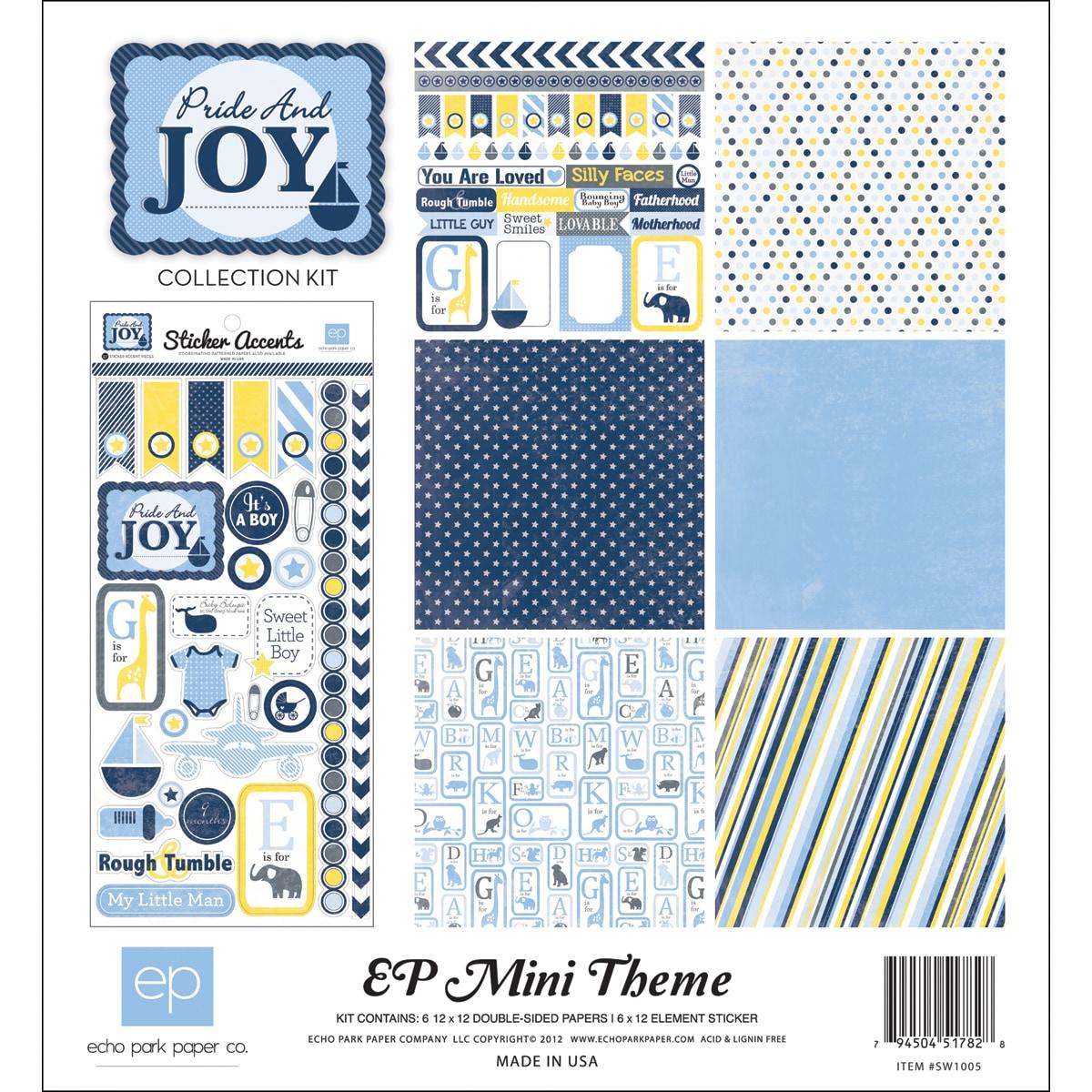 "Pride & Joy Collection Kit 12""X12"""