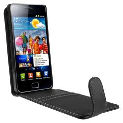 Leather Case/ LCD Protector/ USB Cable for Samsung Galaxy S II i9100