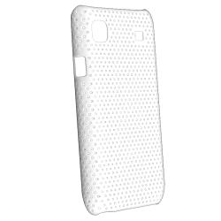 White Mesh Case/ Charger for Samsung Galaxy S i9000 - Thumbnail 1
