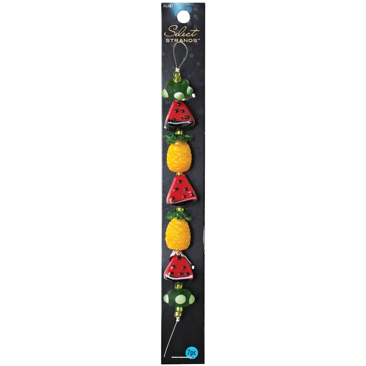 Select Strands Lampwork Beads -Watermelon & Pineapple